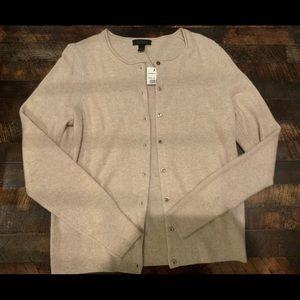 Saks Fifth Avenue Tops - Cashmere Saks Fifth Avenue Cardigan/sweater
